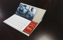 瓦房店台历、挂历印刷